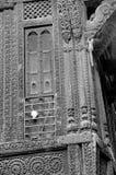 `-Haveli ` eller traditionellt arvhus i Ahmedabad Royaltyfria Bilder