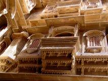 Haveli, Jaisalmer Immagini Stock Libere da Diritti