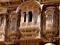 Haveli, Jaisalmer immagine stock