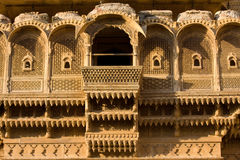 Haveli in Jaisalmer, Rajasthan, India Stock Photos