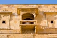 Haveli in Jaisalmer, Rajasthan, India Stock Image