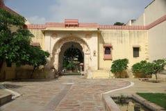 Haveli in Jojawar, Ragiastan Fotografie Stock Libere da Diritti