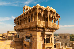 Haveli (mansion) in Jaisalmer. India Stock Photography
