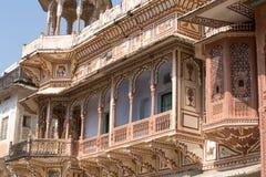 Haveli, mansion in Rajasthan, India Royalty Free Stock Image
