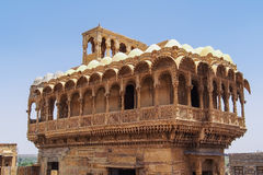Haveli Moti Mahal Jaisalmer India Stockfoto