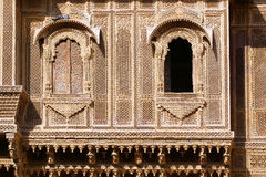Haveli-private mansion in India Stock Images
