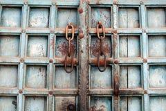 Haveli Türen Lizenzfreies Stockbild