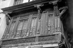 ` Haveli ` of Traditioneel Erfenishuis in Ahmedabad Royalty-vrije Stock Fotografie