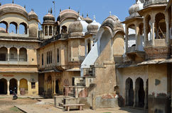 Haveli velho, Mandawa, Rajasthan, Índia Fotos de Stock Royalty Free