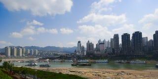 Haven 4 van Chongqing stock afbeeldingen