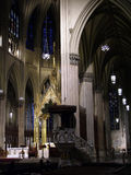 Haven. Inside of a cathedral offering haven Royalty Free Stock Images