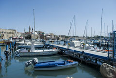 Haven in Akko (Acre), Israël royalty-vrije stock fotografie