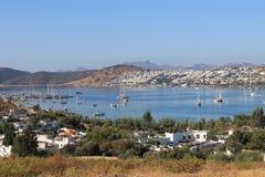 Haven in algarve in Portugal Stock Foto's