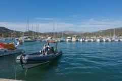Haven Andratx Mallorca royalty-vrije stock fotografie