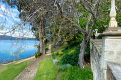 Haven Arthur Historic Site - Tasmanige - Australië Royalty-vrije Stock Foto's