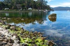 Haven Arthur Historic Site - Tasmanige - Australië Stock Afbeeldingen