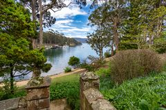 Haven Arthur Historic Site - Tasmanige - Australië Royalty-vrije Stock Fotografie