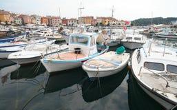Haven bij Adriatische Overzees 2 Royalty-vrije Stock Foto