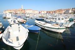 Haven bij Adriatische Overzees 4 stock foto's