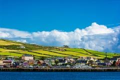 Haven bij de Kust van Dingle in Ierland royalty-vrije stock afbeelding