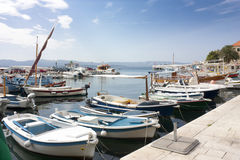 Haven in Bol Stock Photography