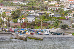 Haven in Camara de Lobos Royalty-vrije Stock Afbeelding