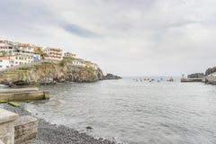 Haven in Camara de Lobos Royalty-vrije Stock Fotografie