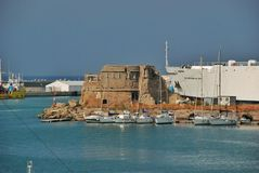 Haven Civitavecchia Italië Royalty-vrije Stock Fotografie