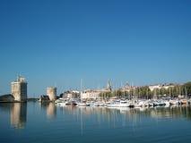 Haven DE La Rochelle, Frankrijk Royalty-vrije Stock Fotografie