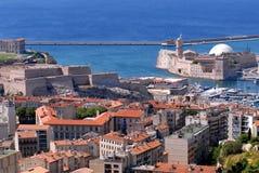 Haven DE Marseille royalty-vrije stock afbeeldingen