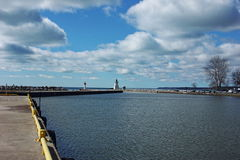 Haven Dover Harbor Stock Foto's