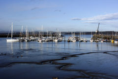 Haven Edgar Marina, Schotland Royalty-vrije Stock Afbeelding