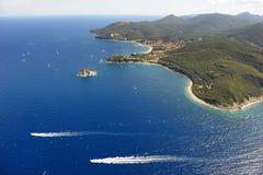 Haven-Elba van Cavo eiland Royalty-vrije Stock Fotografie