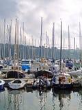 Haven en boten Stock Foto's