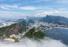 Haven en horizon van Rio de Janeiro Brazil Stock Foto