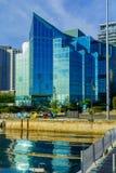 Haven en van de binnenstad, in Halifax royalty-vrije stock foto's