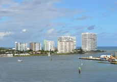 Haven Everglades in Fort Lauderdale Stock Foto