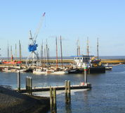 Haven F Vlieland nederland Royalty-vrije Stock Foto