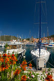 Haven in Frankrijk Royalty-vrije Stock Foto's