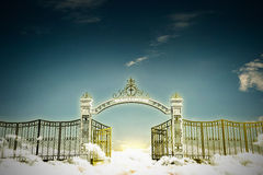 Haven gate Royalty Free Stock Images
