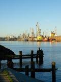 Haven in Gdansk Royalty-vrije Stock Foto's