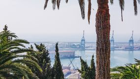 Haven Genoa Italy royalty-vrije stock afbeeldingen