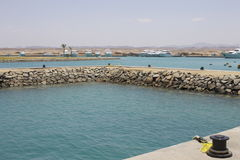 Haven Ghalib Marina Red Sea Egypt stock afbeeldingen