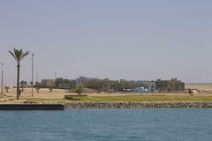 Haven Ghalib Marina Resort Red Sea Egypt Royalty-vrije Stock Afbeeldingen