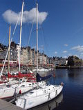 Haven in Honfleur Royalty-vrije Stock Afbeeldingen