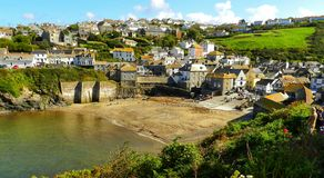Haven Isaac Portwenn, Cornwall het UK Stock Foto