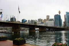 Haven Jackson Harbour Sydney Australia Stock Afbeelding