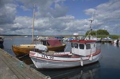 Haven Kivik, Zweden Royalty-vrije Stock Afbeeldingen