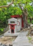 Haven Louis, Guadeloupe, Frankrijk - kan 10 2010: Indische tempel binnen Royalty-vrije Stock Fotografie