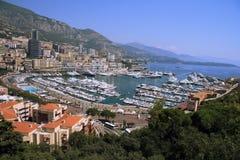 Haven in Monaco stock foto's